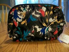 ~NWT~ VERA BRADLEY!~ SPLASH FLORAL!~LARGE TRAVEL ORGANIZER/ MAKEUP CASE BAG!~