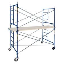 Scaffolding Cross Brace Galvanized Steel Saferstack 4ft x 7ft MetalTech 8-Pack