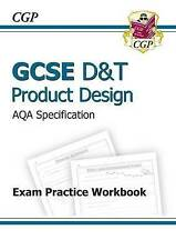 GCSE D&T Product Design AQA Exam Practice Workbook (A*-G Course) by CGP Books (Paperback, 2010)