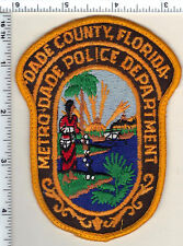 Metro-Dade Police (Florida)  Shoulder Patch - new from 1992