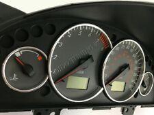 Ford Cougar Or Mercury   Dash Instrument Chrome Rings Polished Aluminium 4pcs