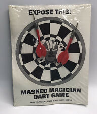 Vintage Magic Memorabilia Val Valentino The Masked Magician Dart Game Giusti 98