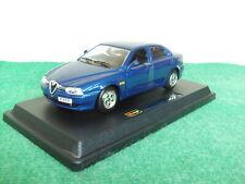 Bburago Alfa Romeo 156 blau 1:24