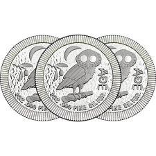 2017 Niue Silver Owl of Athena Stackables 1oz .999 Silver Coin 3pc