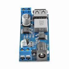 DC 24V/12V to 5V 5A Step Down Buck Converter Power Supply Module 4 USB +Case