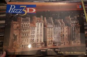 PUZZ 3D , MG PARIS  - QUAI DE MEGISSERIE new and sealed
