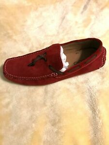Aldo Driving Loafers red Sz 12