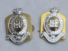 Royal Horse Artillery, rha, col insigne, paire, Collar agita
