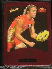 2014 Select AFL Champions Gold Coast Suns Gold Card #97 Matt Shaw