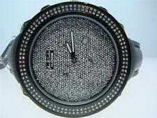 Mens Joe Rodeo Platinum Jojo Black Ion 1.75 Ct Diamond Watch Brand New