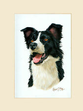 Original Border Collie Painting by Robert May