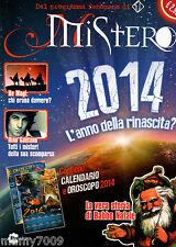 RIVISTA=MISTERO MAGAZINE=N°1 12/2013=RE MAGI=RINO GAETANO=CALENDARIO E OROSCOPO