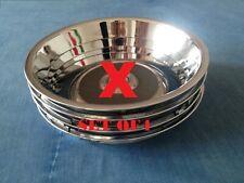 "Ford Taunus tc1 gxl Stainless steel Chrome 13"" Wheel Trim Rings Set of 4"