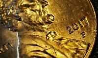 2017 P  Lincoln Shield  Cent Awesome Error Coin