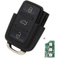 Chiave di ricambio radio chiave-chassis Modulo Tasti per VW SEAT SKODA