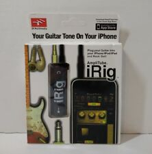 (100 BULK)IK Multimedia AmpliTube iRig Guitar Interface Adaptor for iOS Devices