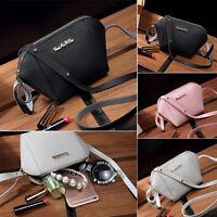 Women Leather Shoulder Bag Messenger Purse Satchel Tote CrossBody Bag Handbag