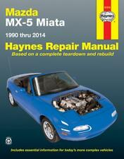 Mazda MX-5 Miata Haynes Repair Manual 1990 thru 2014 #61016