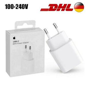 20W USB-C Ladegerät Apple iPhone 12 Mini Max Pro Netzteil Original Power Adapter