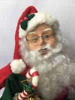 "Vintage Santa Claus 16"" Holiday Creations 1996 Noel ***READ*** FREE FAST SHIP"