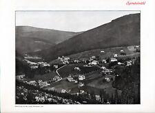 Spindelmühle 1907 orig. Photodrucke Špindlerův Mlýn Špindlerova + Petrova Bouda