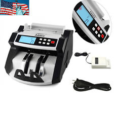 Money Cash Automatic Counter Bank Machine Currency Counting Uv&Mg Counterfeit