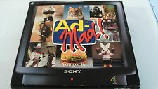 AD-MAD VINTAGE TV ADVERT BOARD GAME 1993 EDITION