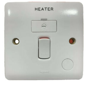 Legrand Synergy 13a Switched Spur Connection Unit with Flex Outlet HEATER 730036