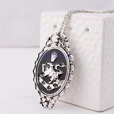 Film Twilight Alice Rosalie Cullen Family Crest Charm Pendant & Chain Necklace