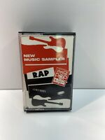 Coca Cola Rap Music Sampler Columbia Records Cassette Tape Ruff House Def Jam