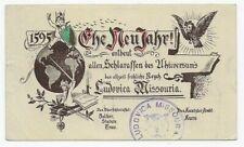 USA 1894 -Ganzsache Schlaraffia - Schlaraffen - Ludovica Missouria - nach Almütz