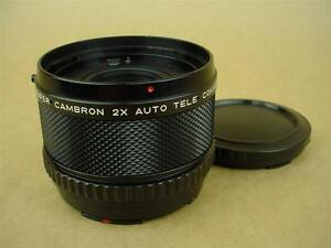 HB Super Cambron 2x Auto Teleconverter for Hasselblad - Very Clean Glass !