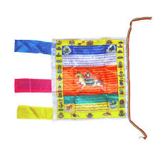 Banner Prayer Flag Tibetan Buddhist Longda Auspicious Scriptures Wind Horse Flag