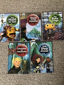 Oxford reading Tree Project X Alien Adventure Level Stage 9 Gold -Set of 5 Books