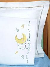 Jack Dempsey Stamped Cross Stitch Pack ~ SWEET DREAMS Pillowcase #1605-119 Sale
