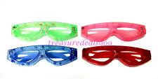 12 Pcs Light Up Glasses Flashing Led Sun Glass Blinking Rave Party Favors Fun