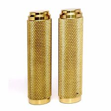 "Internal Throttle 1"" Brass Motorcycle Grips"