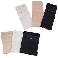 2/3 Hook Ladies Elastic Bra Extender Strap Extension Underwear Strap Belt CPEV