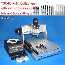 New Ballscrew 3040 300W cnc router /cnc engraver cnc engraving milling machine