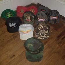 VINTAGE SNAPBACKS Lot of 56 Mesh Denim Snapback Patch Logo K Brand Trucker Hats