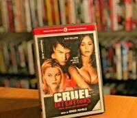 CRUEL INTENTIONS (2000) Sarah Michelle Gellar DVD COME NUOVO THRILLER