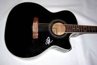 LEE ANN WOMACK Signed 12String Acoustic Electric Guitar PSA AFTAL