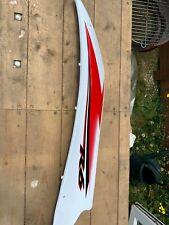 2006 2007 Yamaha R6 Left Side Upper Mid Coverl Panel Fairing Cowling White OEM