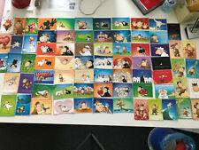 4 Postkarten Eulen Set Grußkarten Freundschaft Herzen owls Liebe Superman Karten