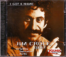 ZOUNDS - JIM CROCE - I got A Name - Best - rare audiophile CD 1999 dig. rem.