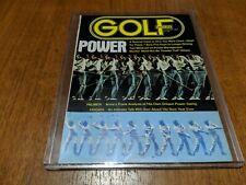 Vintage Golf Magazine August 1975 POWER Arnie Palmer Analysis Ben Hogan