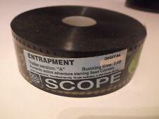ENTRAPMENT (1999) 35mm Film Movie Trailer SEAN CONNERY & Catherine Zeta-Jones