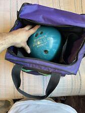 New listing brunswick axis 12 pound bowling ball and brunswick bag