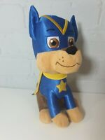 "Nickelodeon Paw Patrol Soft Plush Toy Superhero Super Pup chase 11"""