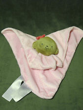 Carters Just One You Pink Polka Dot Monkey Lovey Security Blanket Rattle